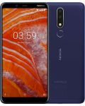 "Смартфон NOKIA 3.1 PLUS DS - 6"", 16GB, син - 1t"