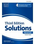Оксфорд Solutions 3E Advanced Essen Teacher's book & Res Disk Pack - 1t