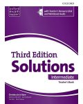 Книга за учителя Solutions 3E Intermediate ESS TB & RES Disk Pack - 1t