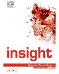 Insight Elementary Teacher's Book & DVD-ROM Pack - 1t