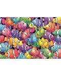 Пъзел Educa от 1000 части - Училище за риби клоуни, Ройс Б. МакКлър - 2t