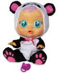 Детска играчка IMC Toys Crybabies – Плачещо със сълзи бебе, Панди - 2t