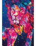 Пъзел Buffalo от 500 части - Лъвско сърце, Алесандро Паутасо - 2t
