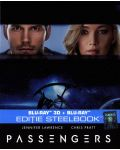 Пасажери 3D+2D (Blu-Ray) - Steelbook - 1t