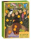Пъзелни кубчета Pomegranate от 12 части - Птици, Чарли Харпър - 1t