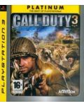 Call of Duty 3 - Platinum (PS3) - 1t