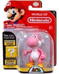 Фигурка World of Nintendo Super Mario - Pink Yoshi - 3t