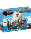 Конструктор Playmobil Dragons - Кораб, 45 части - 1t