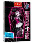 Детски карти за игра Trefl - Monster High - 1t