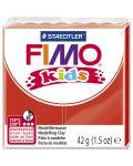 Полимерна глина Staedtler Fimo Kids - червен цвят - 1t