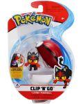 Екшън Poké топка Pokémon - Litten - 1t