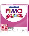 Полимерна глина Staedtler Fimo Kids - розов цвят - 1t