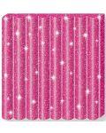 Полимерна глина Staedtler Fimo Kids - блестящ розов цвят - 2t