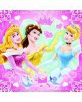 Пъзели Ravensburger 3 от 49 части - Дисни Принцеси - 2t