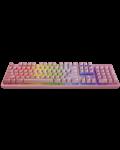 Механична клавиатура Razer Huntsman Quartz - US Layout, розова - 1t