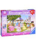 Пъзел Ravensburger от 2 х 24 части - Дисни принцеси - 1t