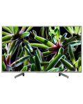 """Телевизор Sony - KD-43XG7077 43"""", 4K, HDR TV, BRAVIA, черен - 1t"""
