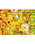 Пъзел Cobble Hill от 1000 части - Жълто, Шели Дейвис - 2t