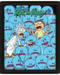 3D плакат с рамка Pyramid - Rick and Morty: Mr. Meeseeks - 1t