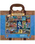 Пъзел в куфарче Master Pieces от 1000 части - Път 66 - 2t