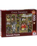 Пъзел Schmidt от 1000 части - Фантастичен град, Колин Томпсън - 1t