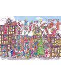 Пъзел Gibsons от 1000 части - 76 пъти Дядо Коледа, Арманд Фостър - 1t