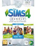 The Sims 4 Bundle Pack 5 - Dine Out, Movie Hangout Stuff, Romantic Garden Stuff (PC) - 1t