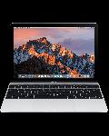 Apple MacBook 12inch   1.3GHz Processor   512GB Storage - Silver - 2t