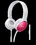 Слушалки с микрофон Panasonic RP-HF300ME-P - розови - 1t