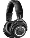 Слушалки с микрофон Audio-Technica ATH-M50xBT - черни - 1t