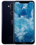 "Смартфон Nokia 8.1 DS - 6.18"", 64GB, син - 2t"