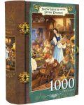 Пъзел в кутия-книга Master Pieces от 1000 части - Снежанка - 1t