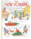 Пъзел New York Puzzle от 500 части - Снежен ден - 1t