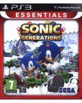 Sonic Generations - Essentials (PS3) - 24t