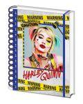 Тефтер Pyramid - Birds Of Prey (Harley Quinn Warning) - 1t