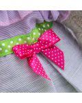 Плюшена играчка Budi Basa - Зайка Ми, с пролетна рокличка, 25 cm - 5t