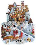 Пъзел SunsOut от 1000 части - Коледа вкъщи, Лори Шори - 1t