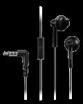 Слушалки с микрофон Panasonic RP-TCM55E-K - черни - 1t