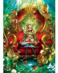 Пъзел в кутия-книга Master Pieces от 1000 части - Алиса в Страната на чудесата, чаено парти - 3t