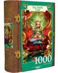 Пъзел в кутия-книга Master Pieces от 1000 части - Алиса в Страната на чудесата, чаено парти - 1t