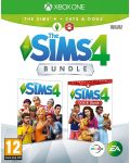 The Sims 4 + Cats & Dogs Expansion Pack Bundle (Xbox One) - 1t