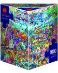 Пъзел Heye от 1000 части - Вълшебно море, Рита Берман - 1t
