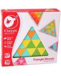 Дървена мозайка Classic World – Триъгълник - 3t
