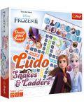 Детска игра Trefl Frozen 2 - Не се сърди, човече и Змии и стълби - 1t
