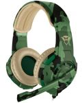Гейминг слушалки Trust GXT 310C Radius - jungle camo - 1t