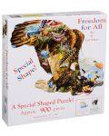 Пъзел SunsOut от 900 части - Свобода за всички, Лори Шори - 2t