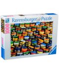 Пъзел Ravensburger от 1000 части - Цветни капачки - 1t