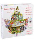 Пъзел SunsOut от 1000 части - Време за баня, Лори Шори - 1t