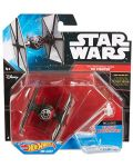 Hot Wheels Star Wars Космически кораби - First Order Tie Fighter - 1t
