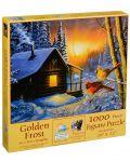 Пъзел SunsOut от 1000 части - Златен студ, Тери Даути - 2t